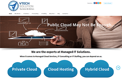 Website Design for RTR