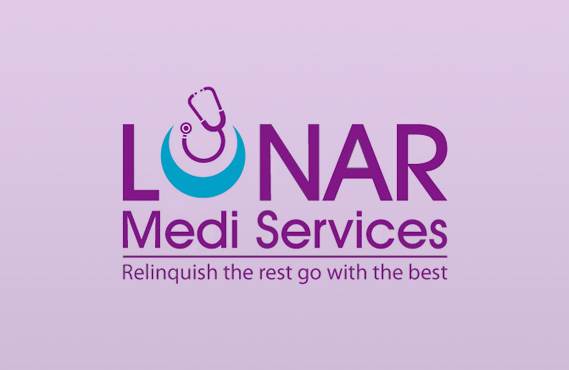 Logo Design for Lunar medi Services