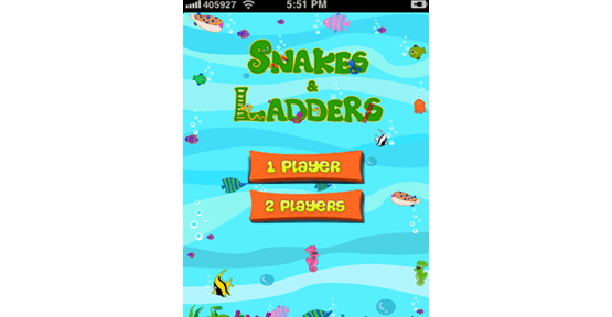 App design for snakes and ladders