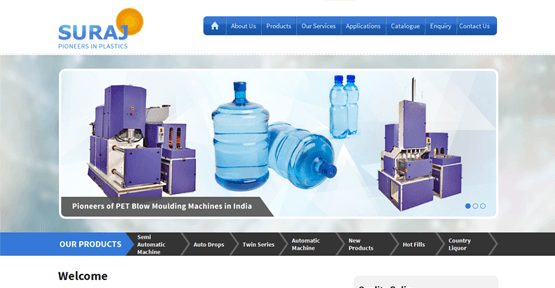SEO for Suraj Plastic Industries