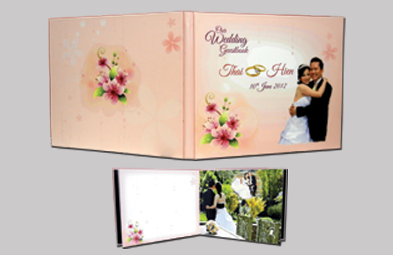 Graphic Design for Thai Wedding Book