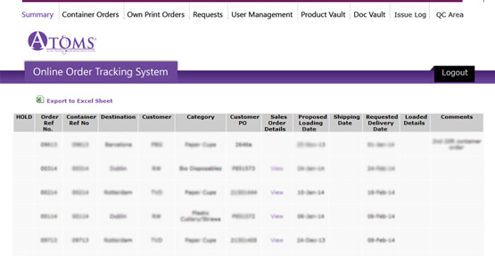.NET app for Online Order tracking system