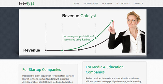 Custom Web Design For revlyst