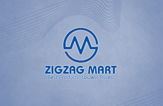 Logo Design for Zigzag Mart